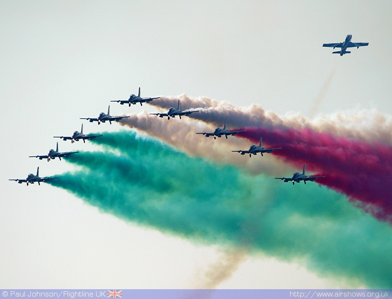 2005 Winner: Il Frecce Tricolori , the Italian Air Force International