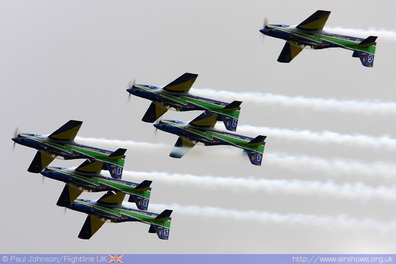 The appearance of the Fumaca at Fairford is really what Air Tattoo is all