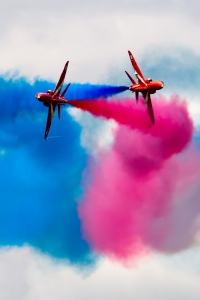 The Red Arrows at Dunsfold Wings and Wheels 2012