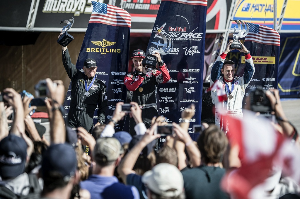 RED BULL AIR RACE: McLeod hits jackpot in Las Vegas