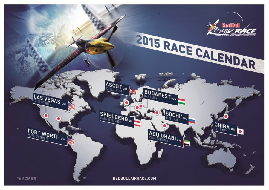 Red Bull Air Race Calendar 2015