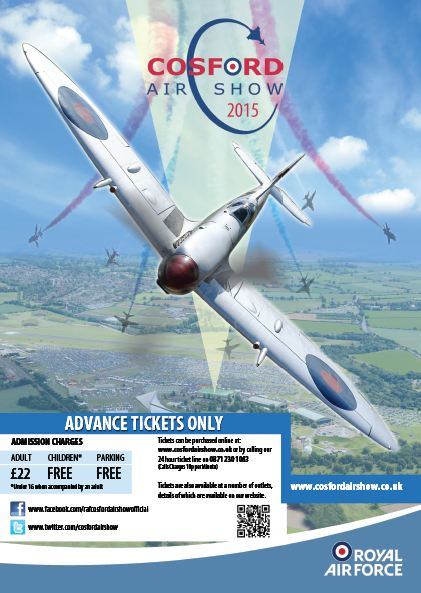 AIRSHOW NEWS: Green light for RAF Cosford Air Show