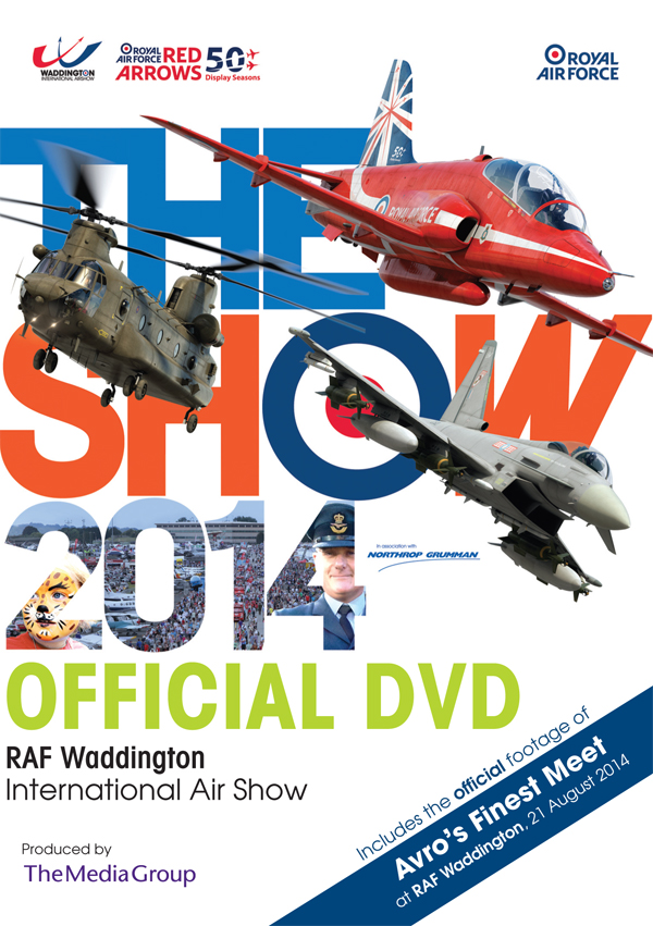 DVD REVIEW: RAF Waddington International Airshow 2014
