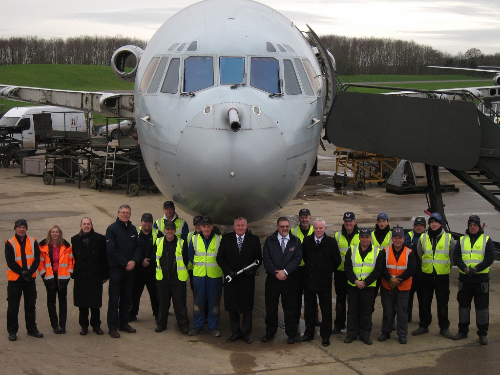 NEWS: VC-10 Update for Charitable Trust Chairman