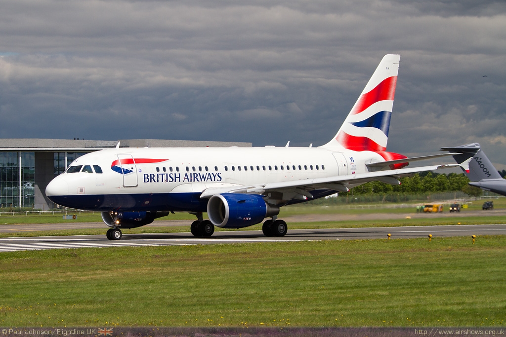 AIRSHOW NEWS: BA flies Business Class to Air Tattoo