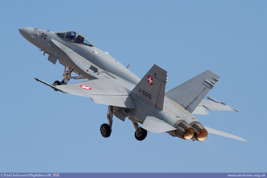 Swiss Air Force F/A-18C Hornet - Image © Paul Johnson/Flightline UK