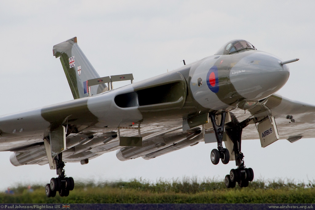 AIRSHOW NEWS: Mighty Vulcan returns to RAF Cosford