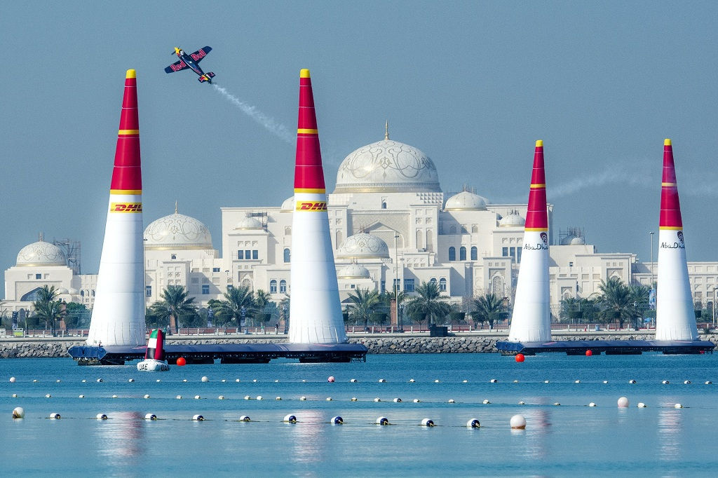RED BULL AIR RACE: Abu Dhabi hosts Red Bull Air Race World Championship opener for eighth time