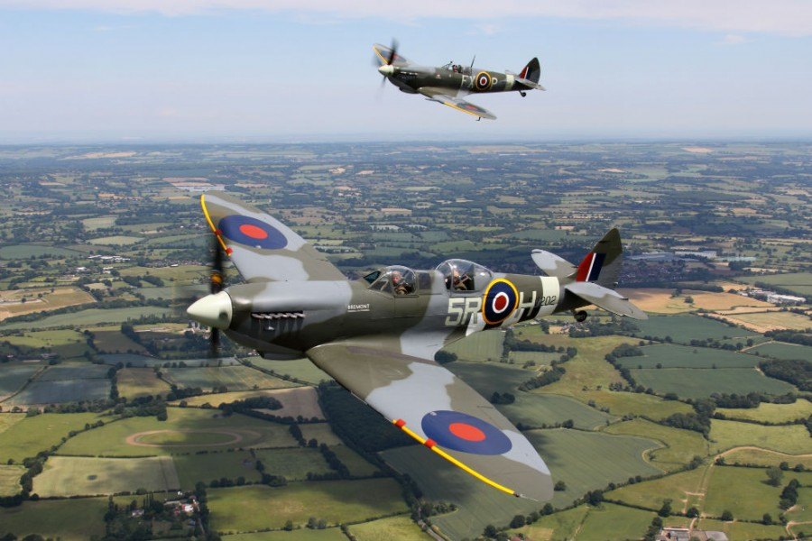 Aero Legends 75th Anniversary Battle of Britain, Air Show and Ball - Image via AeroLegends