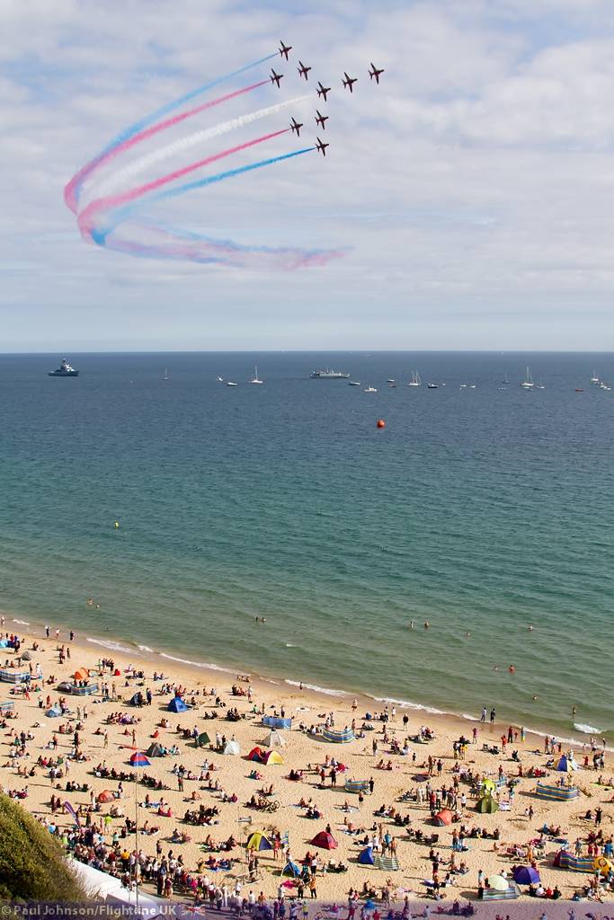AIRSHOW NEWS: 2015 Bournemouth Air Festival Takes OFF!
