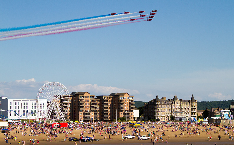 AIRSHOW NEWS: Two day Red Arrows display confirmed for Weston Air Festival