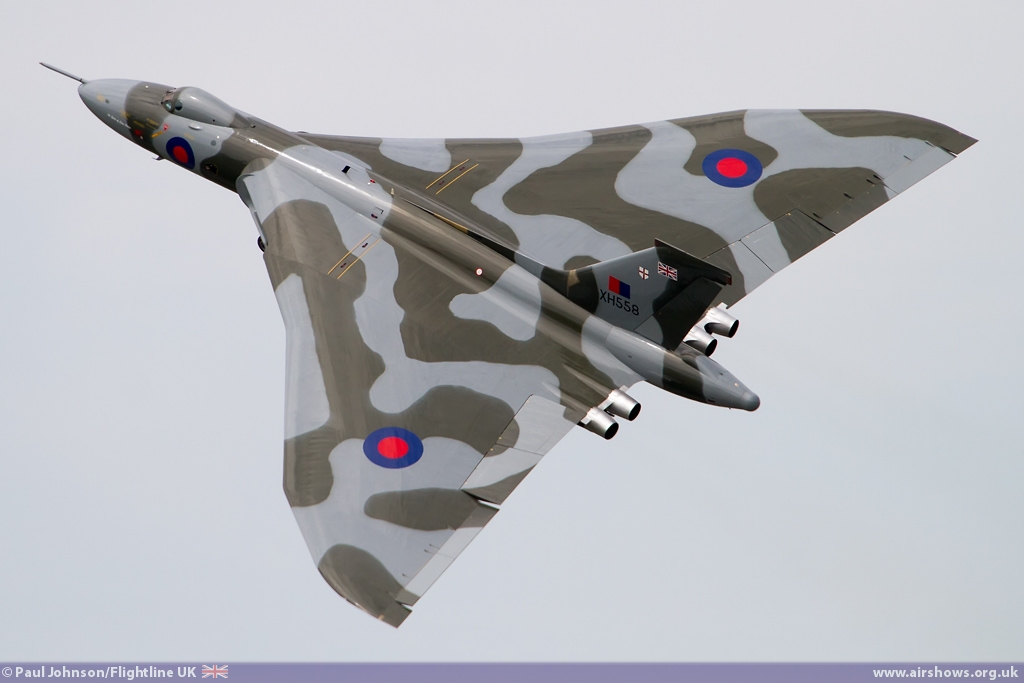 AIRSHOW NEWS: 2015 will be the final display season for Avro Vulcan XH558