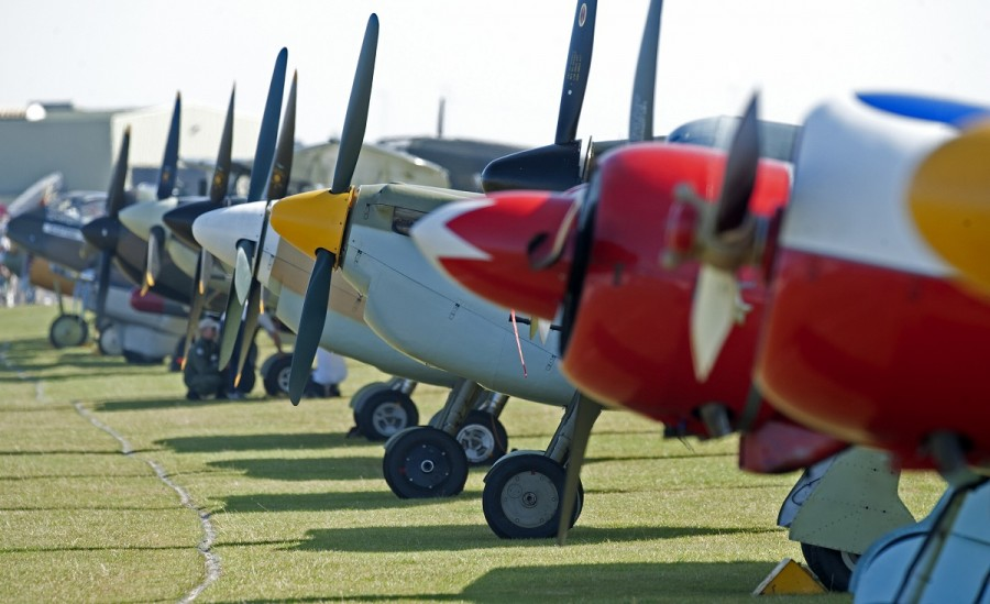 Aviation event days at IWM Duxford in 2015