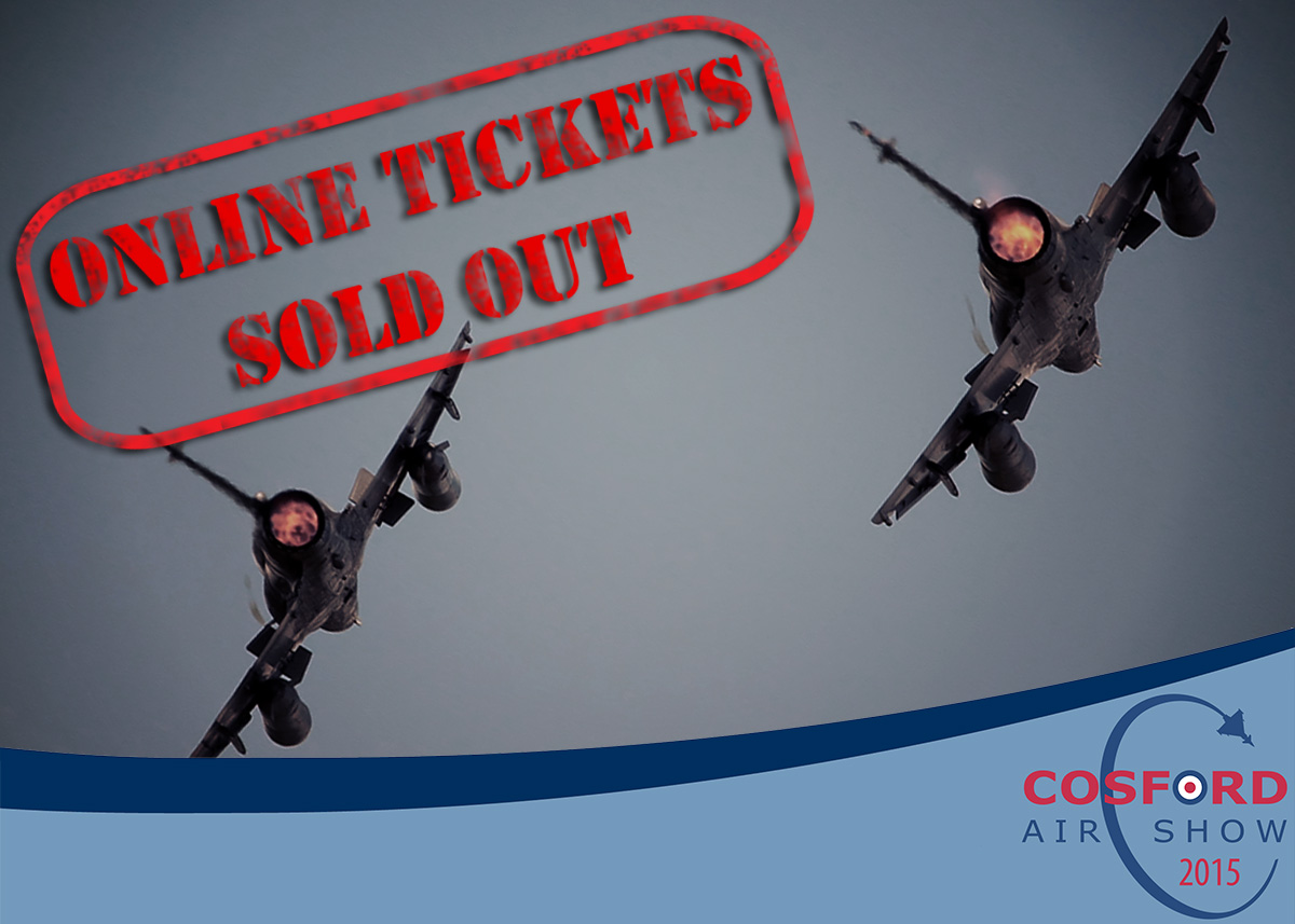AIRSHOW NEWS: Online Sales for RAF Cosford Air Show are SOLD OUT