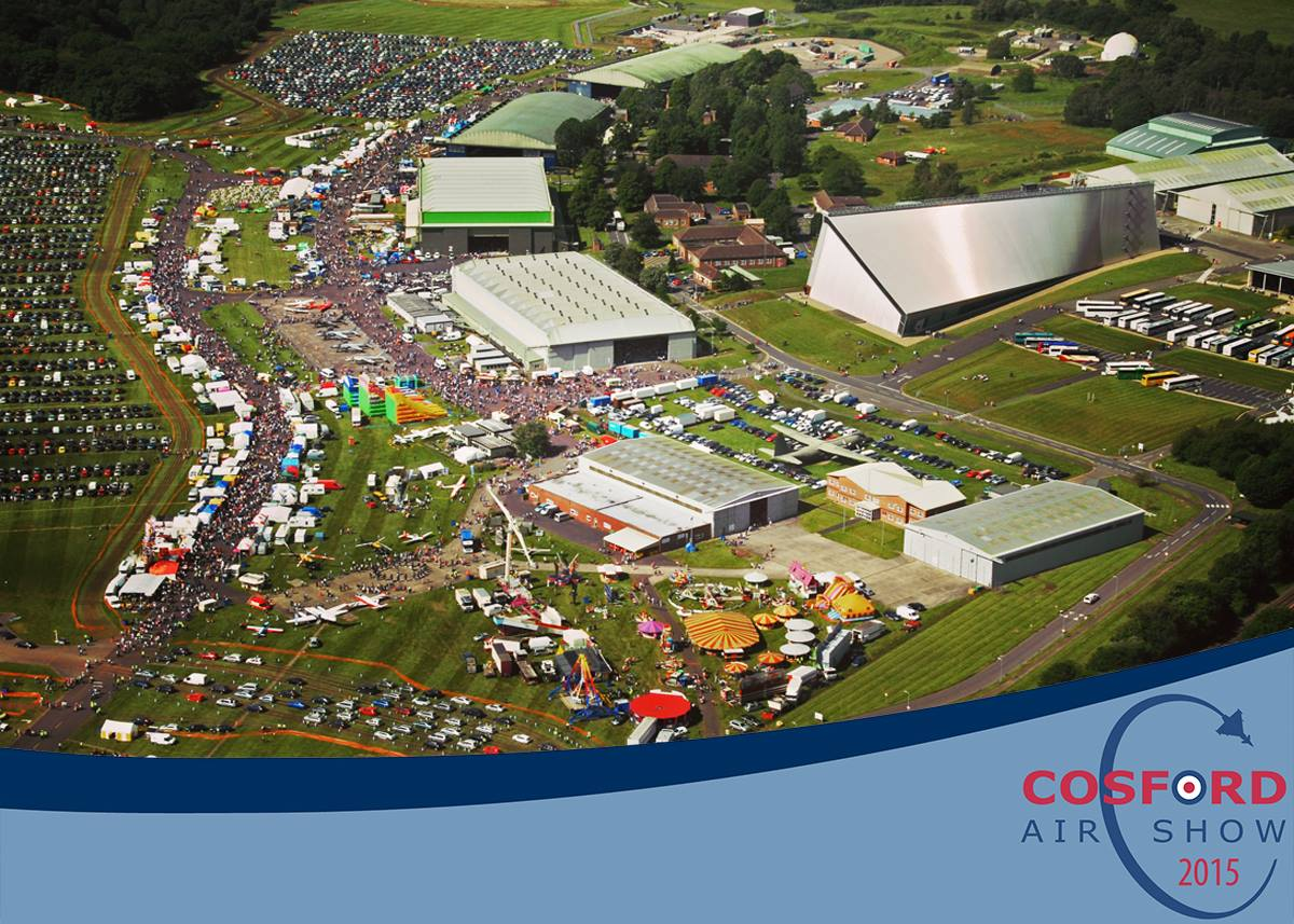 AIRSHOW NEWS: Engineer a brilliant day at RAF Cosford Air Show