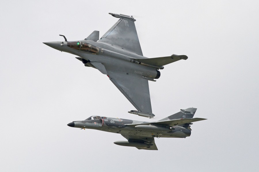 FN Rafale & Super Etendard - Paul Johnson
