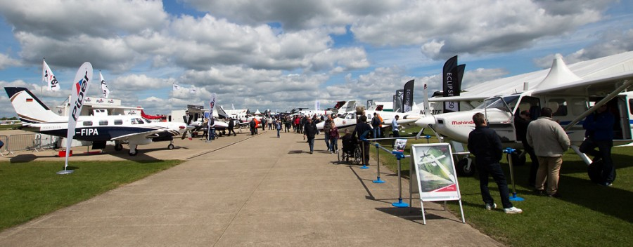 AeroExpo & HeliExpo 2015, Sywell - Image © Paul Johnson/Flightline UK