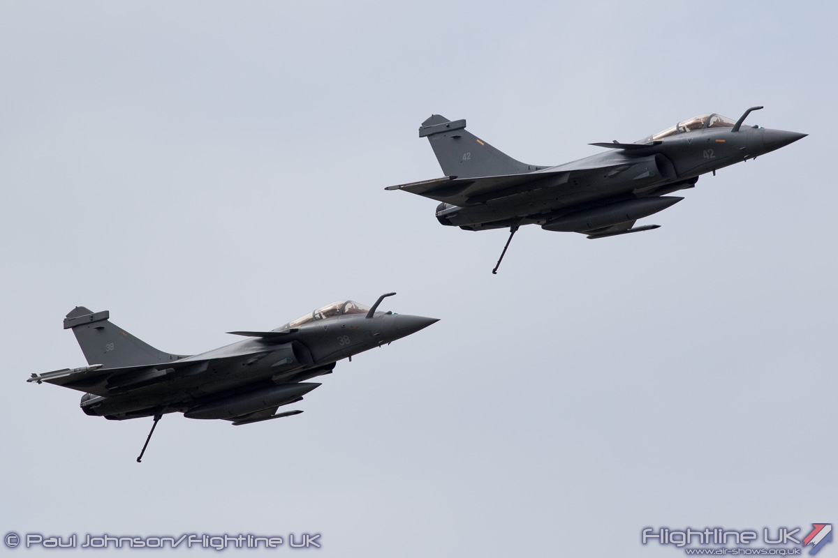 AIRSHOW NEWS: French Navy Fast Jet Duo set to thrill Air Day Crowds