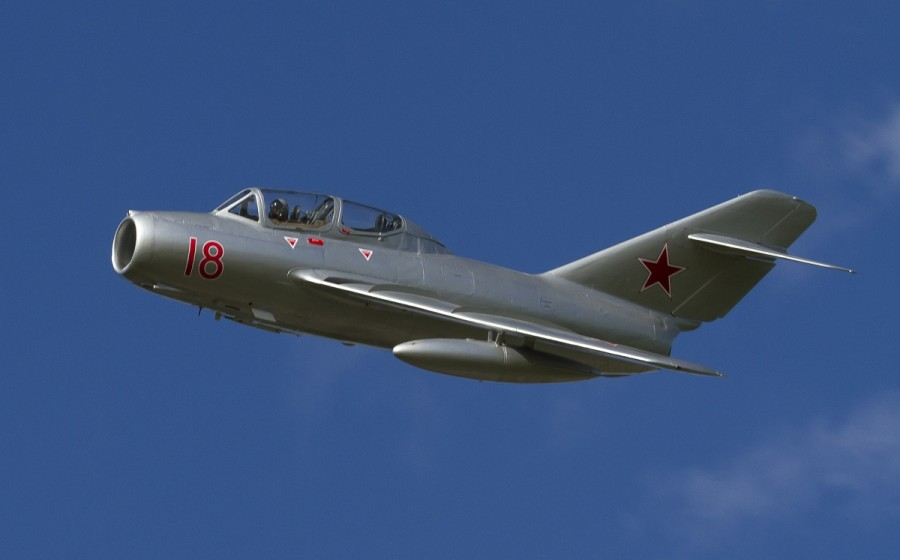 MiG-15 - Norwegian Air Force Historical Squadron