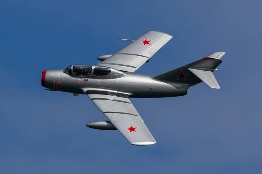 Norwegian Air Force Historical Squadron MiG-15 - Image © Paul Johnson/Flightline UK