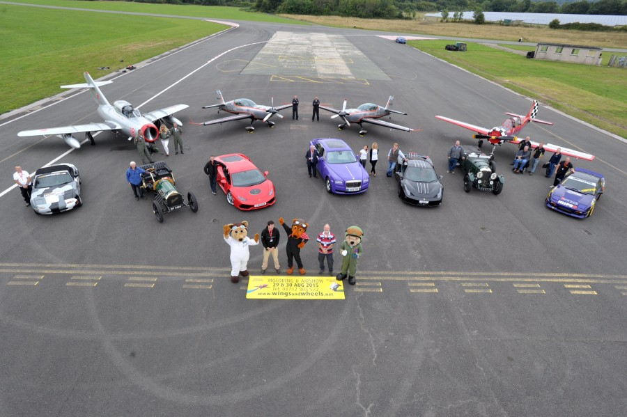 Dunsfold Wings and Wheels 2015