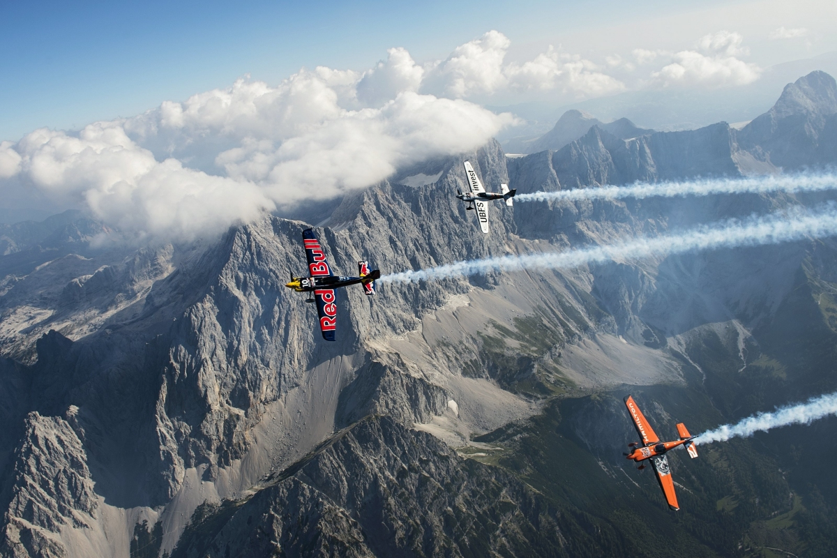 """RED BULL AIR RACE: Pilots get """"massif"""" thrill ahead of race in Spielberg, Austria"""