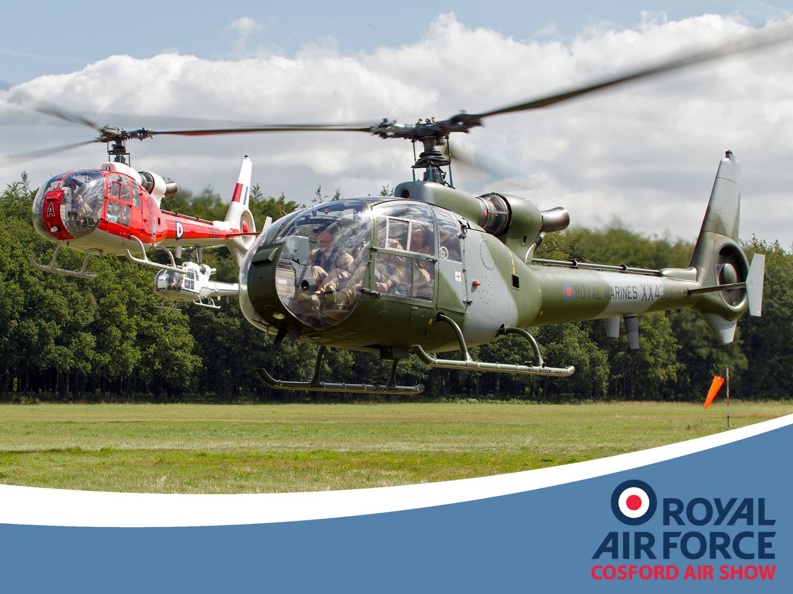AIRSHOW NEWS: Gazelle Squadron to debut at RAF Cosford Air Show