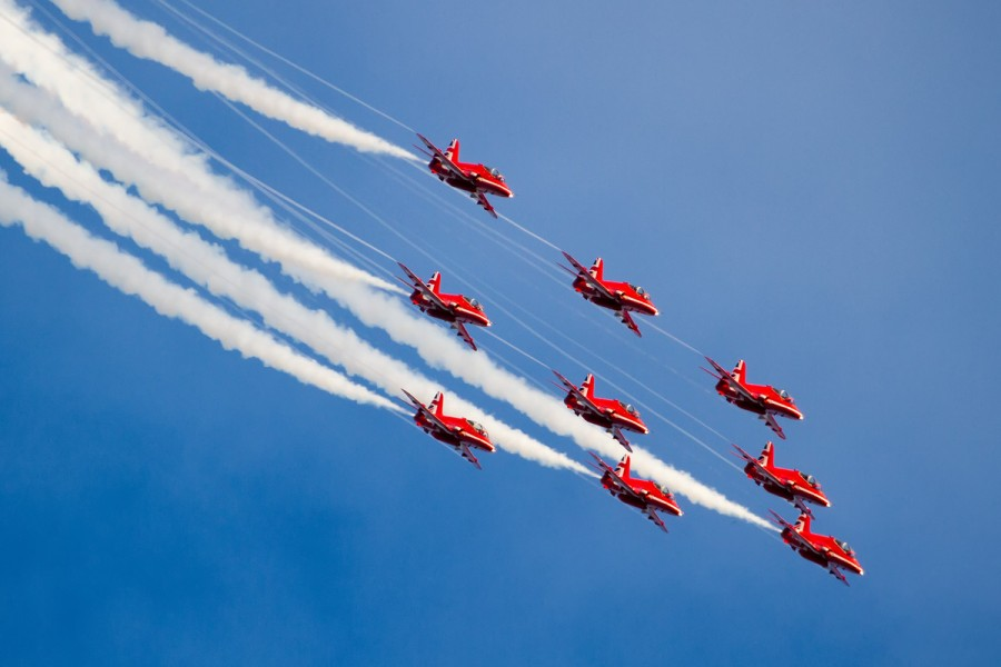 RAF Red Arrows - Paul Johnson