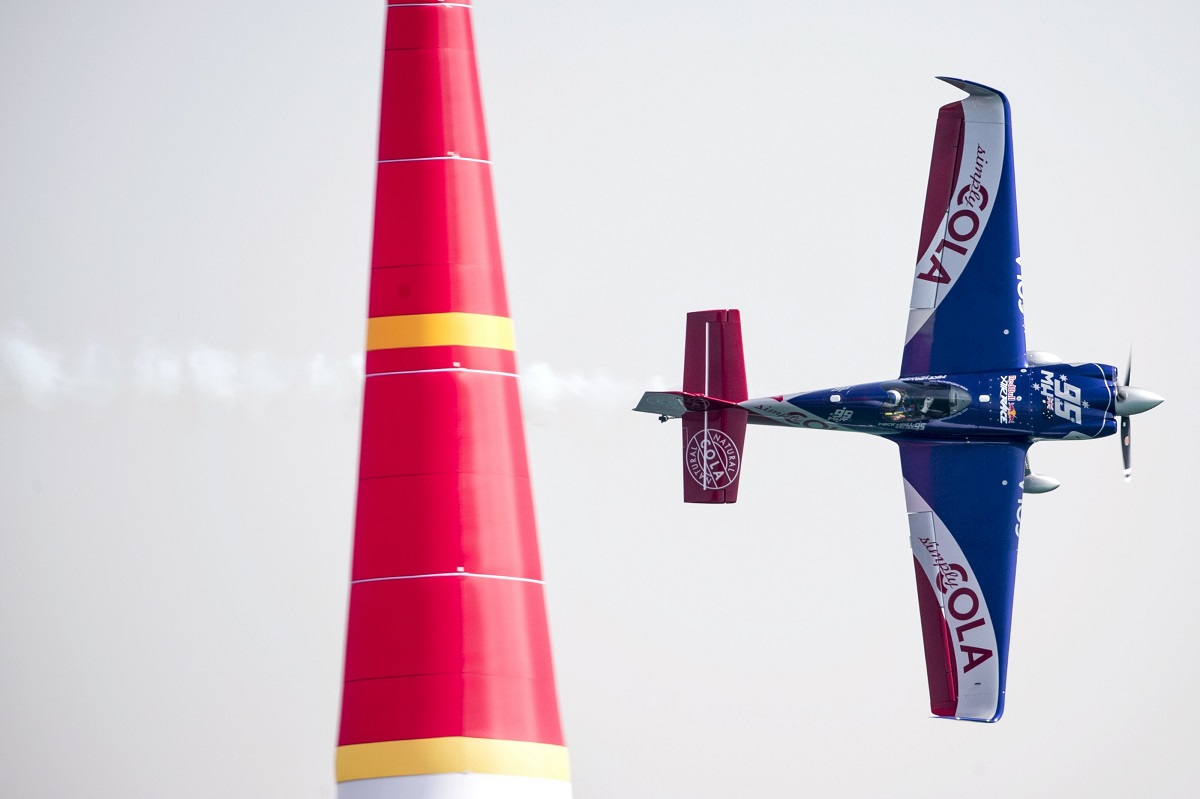 RED BULL AIR RACE: Australia's Matt Hall clocks top Qualifying time in Abu Dhabi