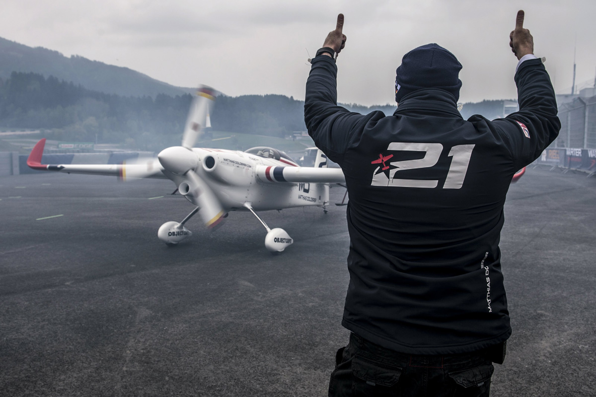 RED BULL AIR RACE: It's first Red Bull Air Race win  for Dolderer – and Germany – in Spielberg