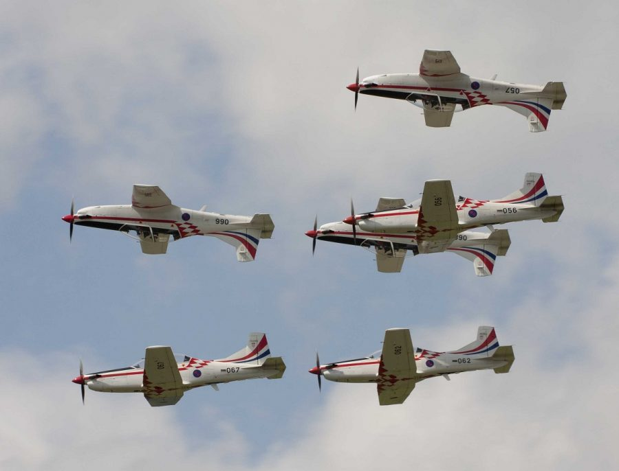 Croatian Air Force Krila Oluje Display Team