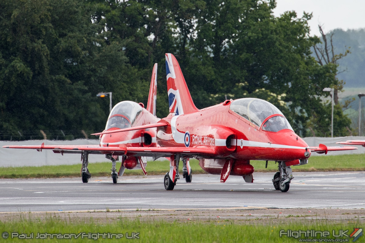 AIRSHOW NEWS: Red Arrows restricted to flypasts at Farnborough