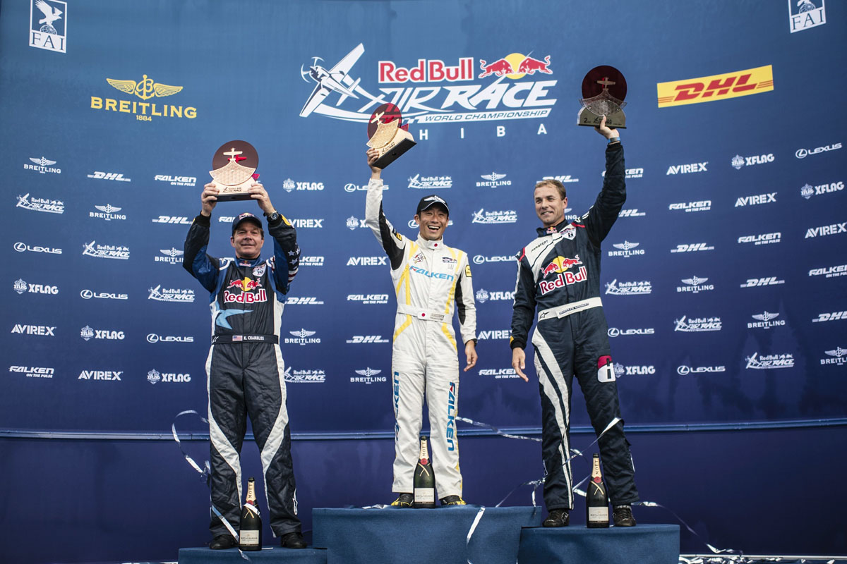 RED BULL AIR RACE: Muroya claims historic first win for Japan and all of Asia
