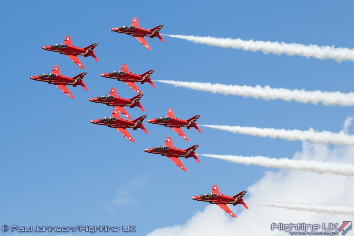 AIRSHOW NEWS: Red Arrows to promote prosperity with major Asia tour