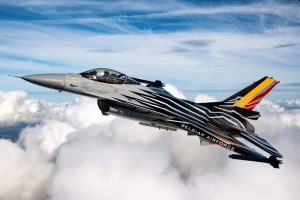 BAF F16 Solo Display - copyright by Peter Vanloey