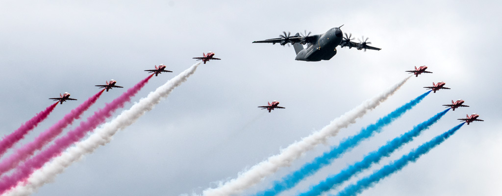 REVIEW: Farnborough International Airshow: The Public Weekend
