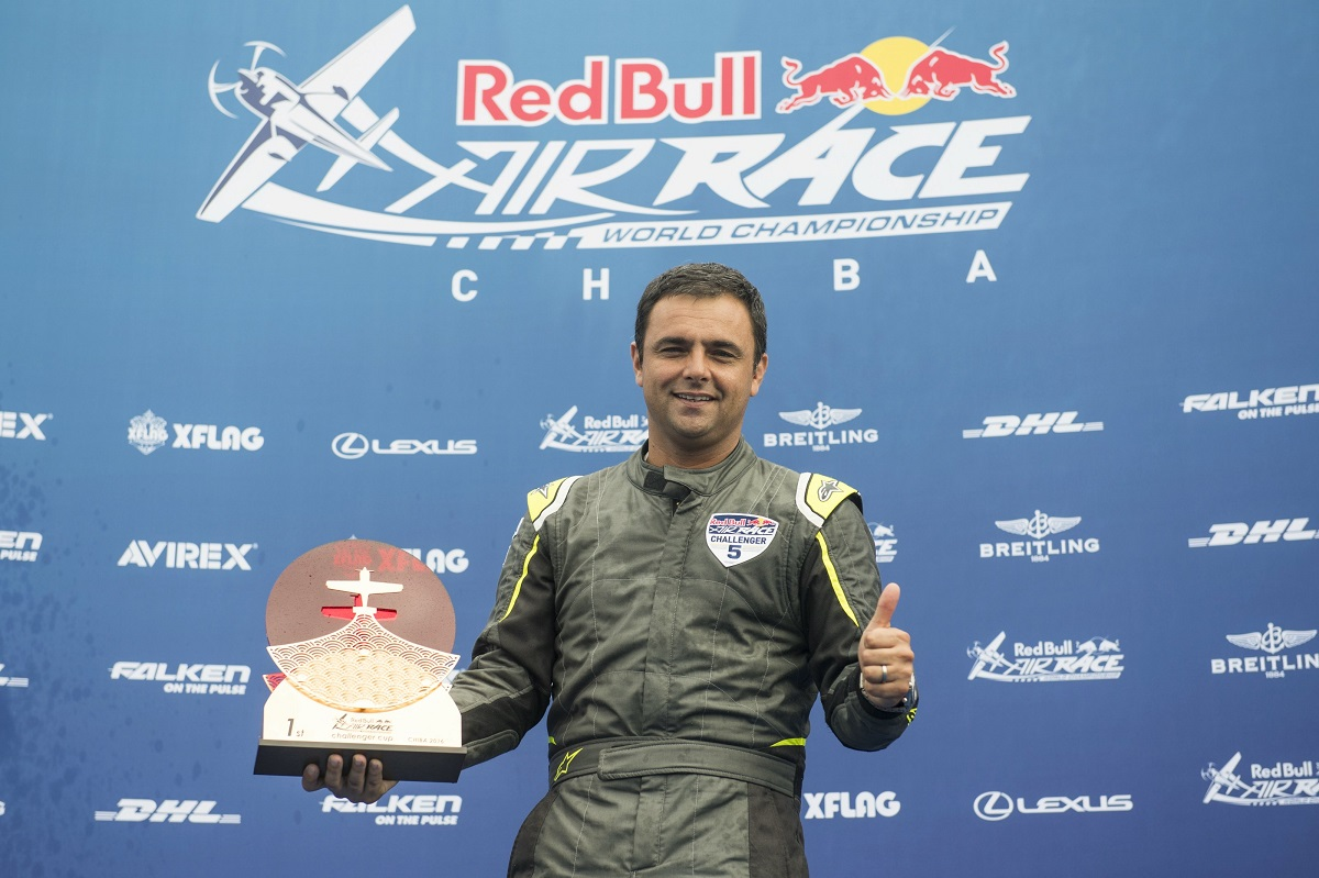 RED BULL AIR RACE: Cristian Bolton poised to become first Chilean in the Red Bull Air Race Master Class