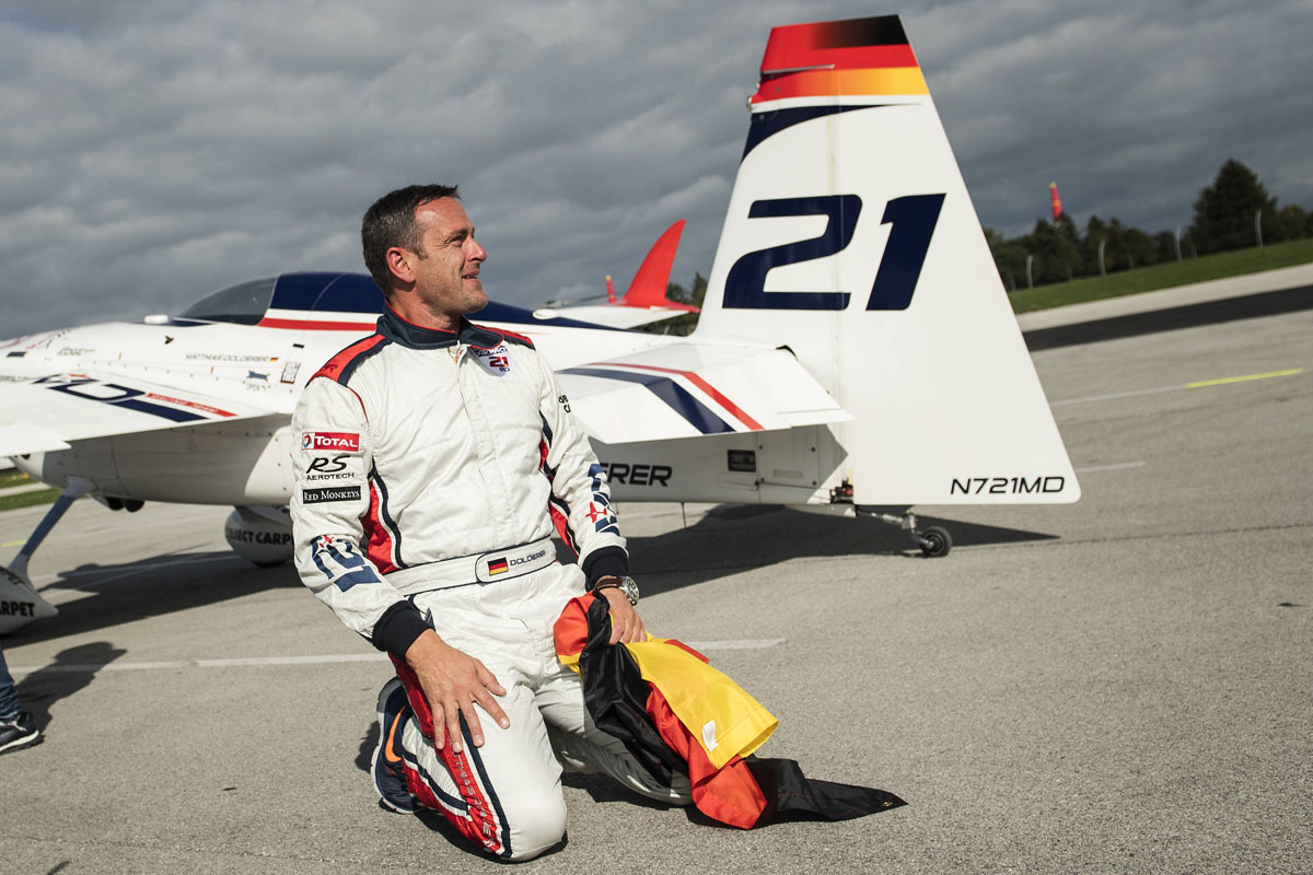RED BULL AIR RACE: Germany's Dolderer clinches Red Bull Air Race World Championship with historic Indy win