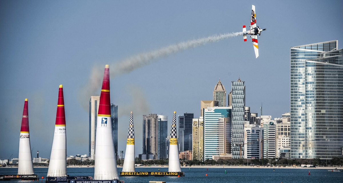 RED BULL AIR RACE: 2017 Red Bull Air Race season kicks off in Abu Dhabi with landmark 75th race