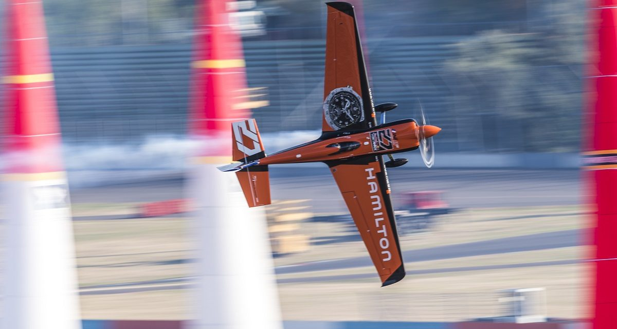 RED BULL AIR RACE: Hamilton Is the Global Timekeeper for Red Bull Air Race