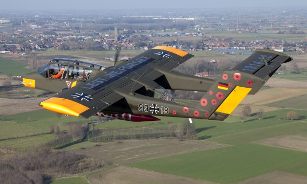 AIRSHOW NEWS: Bronco Demo Team to bring poppies from Flanders Fields