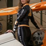 Gina Marshall : RAF Cosford Air Show 2017 Media Launch - Image © Breitling Wingwalkers