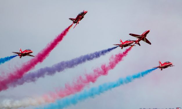 AIRSHOW NEWS: RAF confirms Red Skies over Scampton